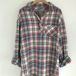 ❌SOLD❌ Oversized Pullover Flannel 🏕